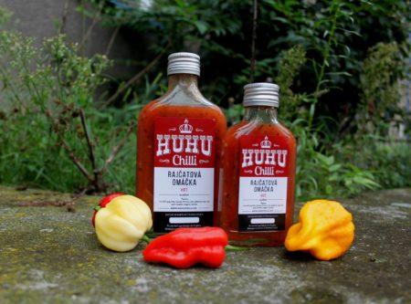 HUHU Chilli rajčatová omáčka