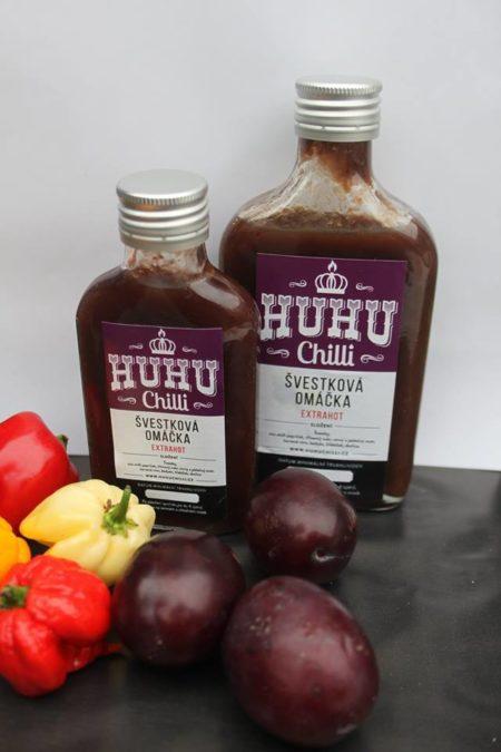 HUHU chilli švestková chilli omáčka