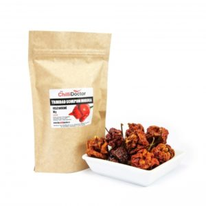 Trinidad Scorpion Moruga celé papričky – sušené 10g